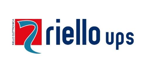 Riello UPS Sponsor Logo