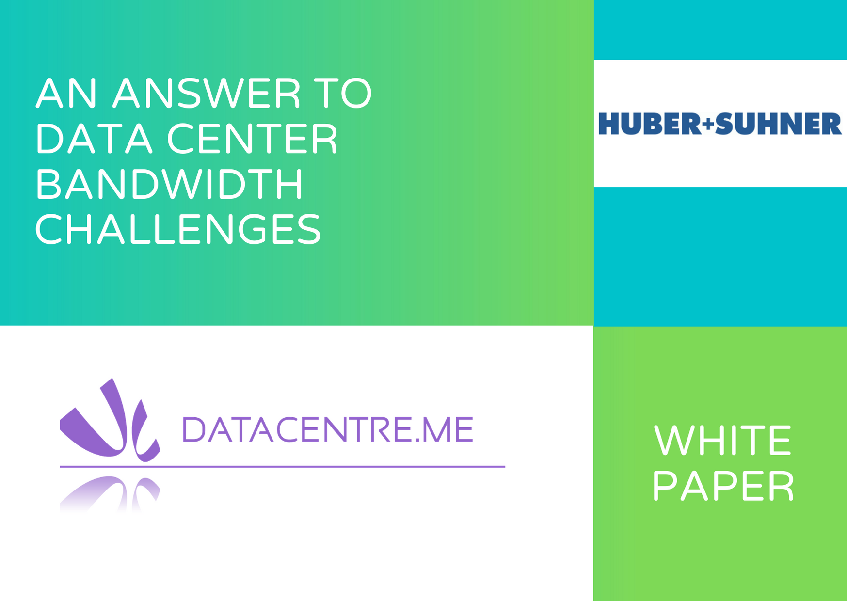 An Answer to Data Center Bandwidth Challenges – White Paper from HUBER+SUHNER