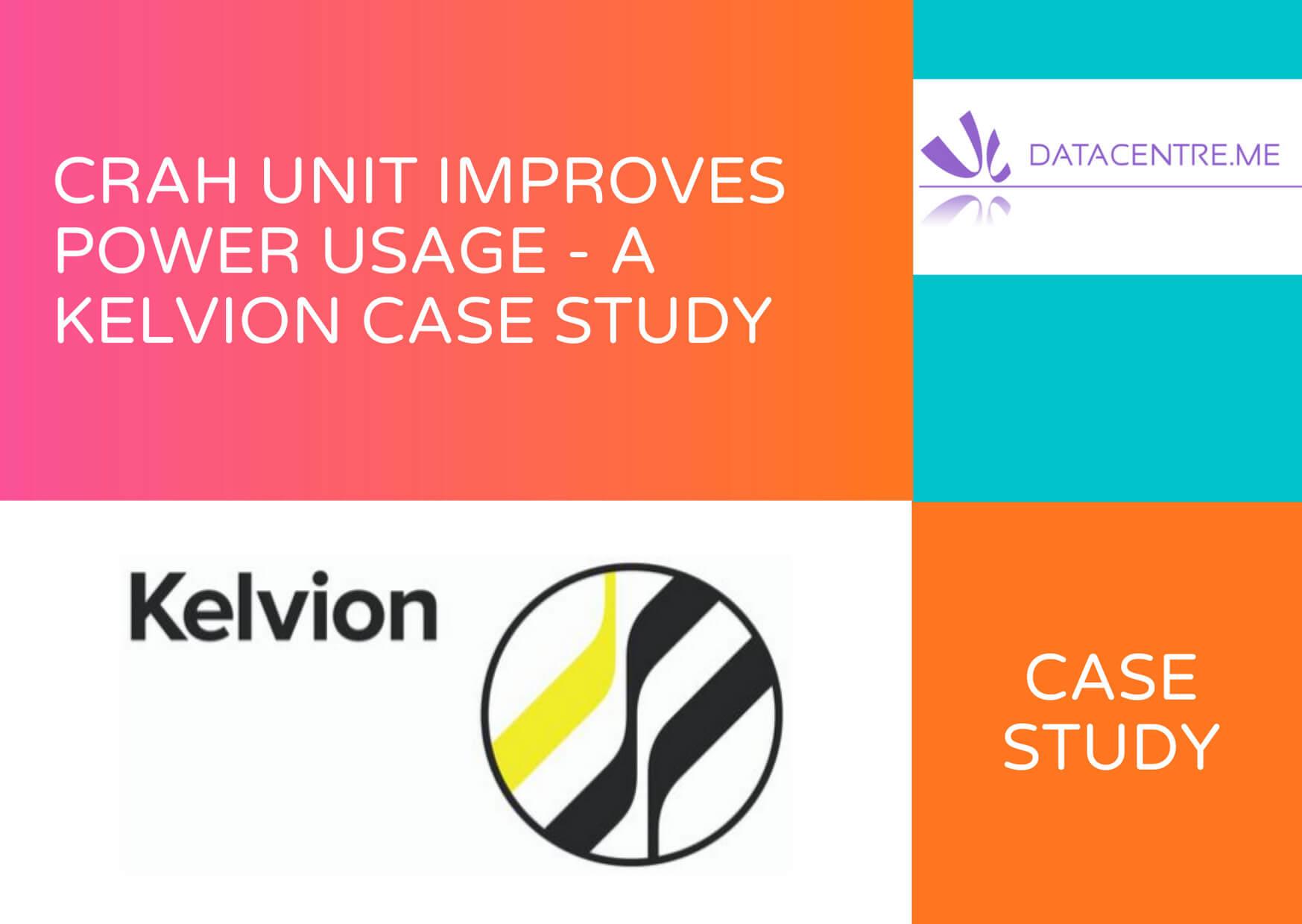CRAH Unit Improves Power Usgae - A Kelvion Case Study