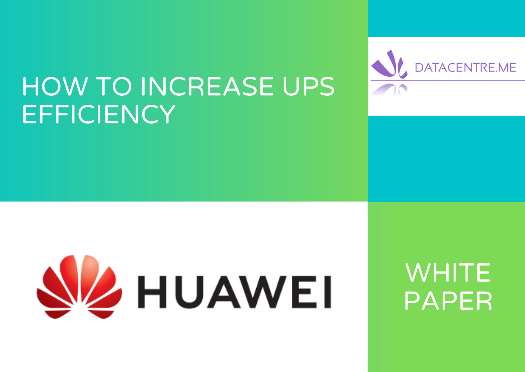 Huawei White Paper 3 How to increase UPS Efficiency