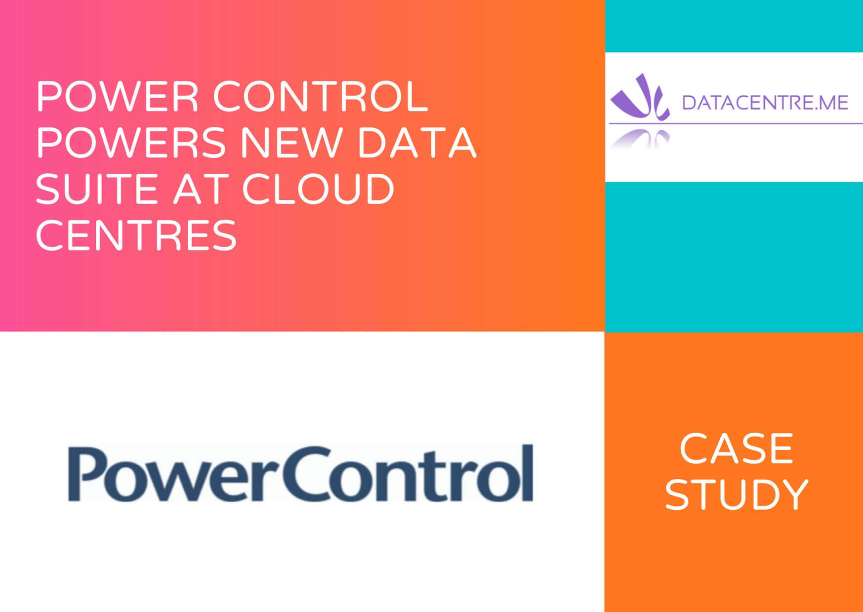POWER CONTROL POWERS NEW DATA SUITE AT CLOUD CENTRES