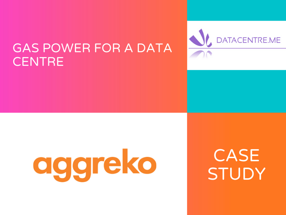 Aggreko Case Study - Gas Power for a Data Centre